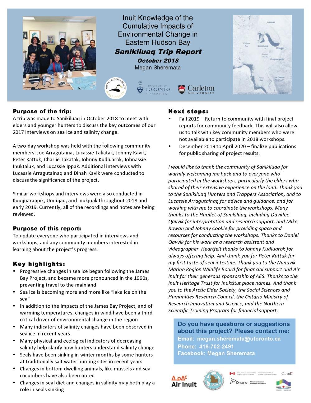Sanikiluaq 2019 Trip reportENGINUKRS_Page_1